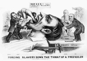 slavery-cartoon-in-kansas-nebraska-act