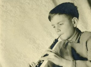 young-karl-jenskins-playing-oboe